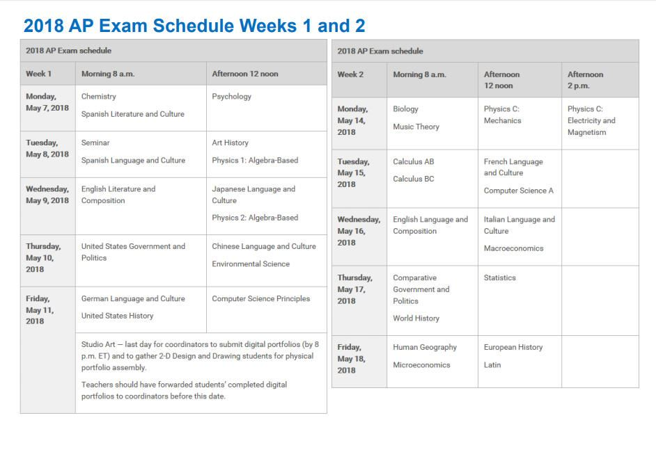 exam schedule Spring 2018 exam schedule exams are not listed on this schedule and are  course block exam type notes  10284001 panayi january full period take-home early final exam.