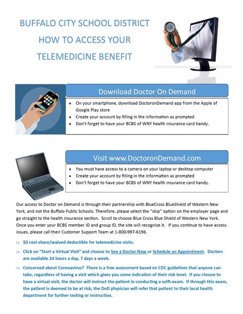 How to access Telemedicine Benefit