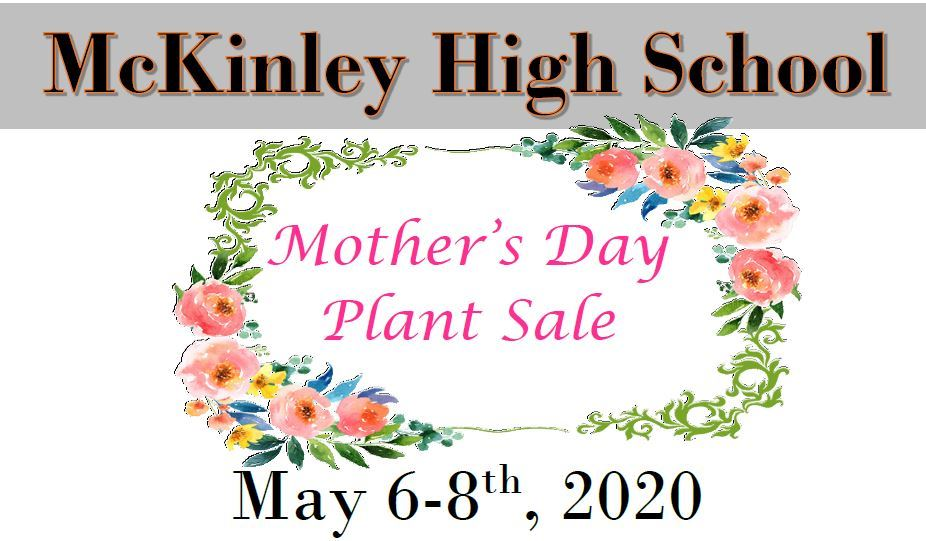 McKinley Mother's Day Plant Sale