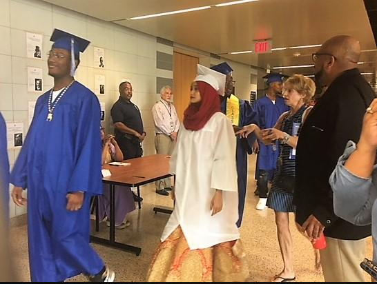 City high school students graduate following successful summer school session at McKinley High School