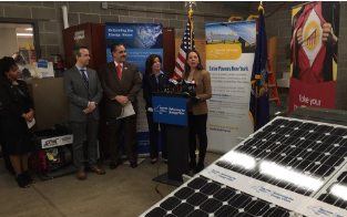 "Hochul announces NY's solar power usage ""up 1000 percent"" since 2011"
