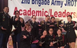 MHS JROTC Academic Team Travels to NYC for Competition