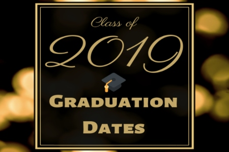 2019 Graduation Events