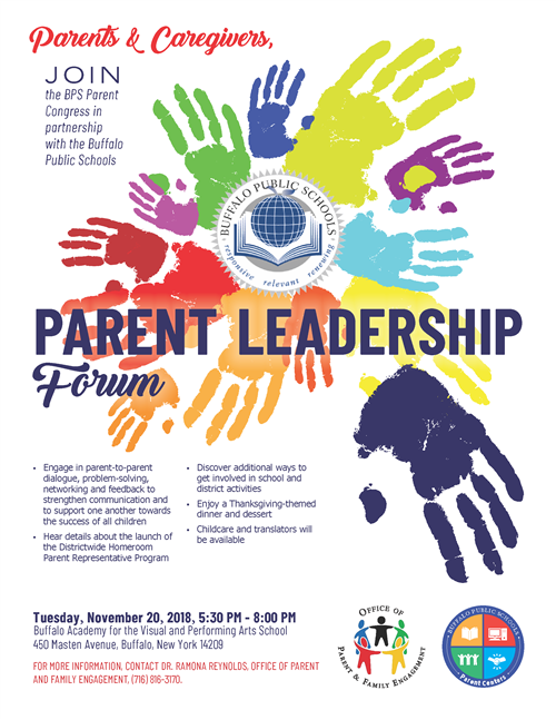 BPS Parent Leadership Dinner Forum
