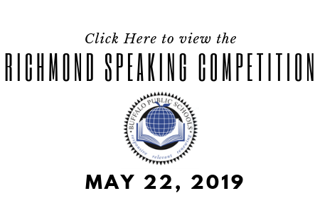 2019 Richmond Speaking Competition