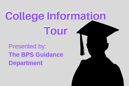 College Tour for Middle and High School Parents, July 18