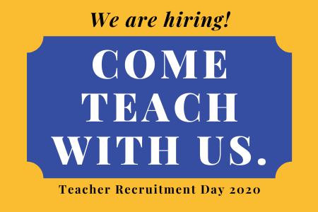 Teacher Recruitment Day 2020
