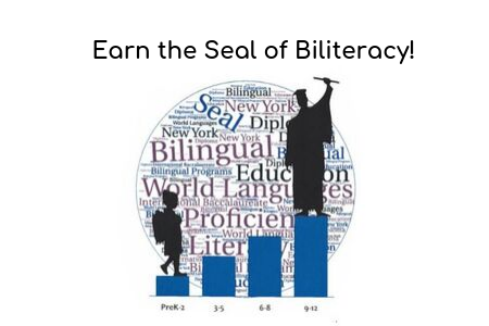 Graduate with the Biliteracy Seal from NYS