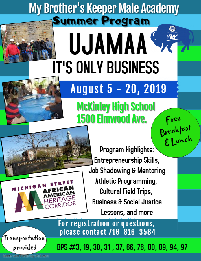MBK Ujamaa, it's only business