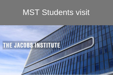 MST's Medical Ethics Students Visit The Jacobs Institute!