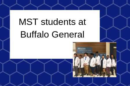 MST Students visit to Buffalo General Hospital