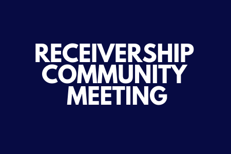 The Academy School Receivership Meeting