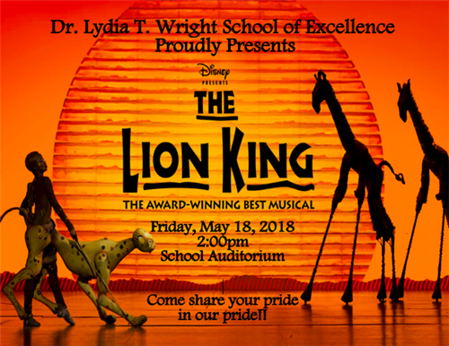 The Lion King at Dr. Lydia T. Wright
