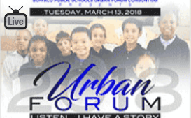 Watch Live! Tuesday! Urban Forum-Listen I Have a Story