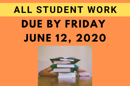 Student Schoolwork Submission Deadline