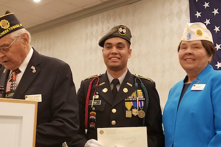Hutch Tech Cadet Earns New York State Cadet of the Year