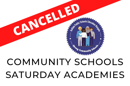 Saturday Academies-Cancelled