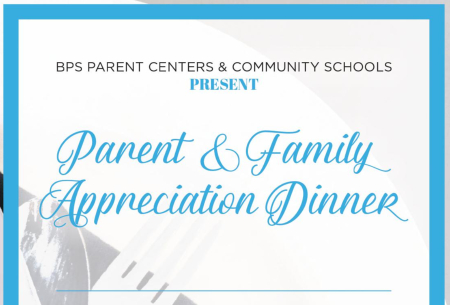 Parent and Family Appreciation Dinners