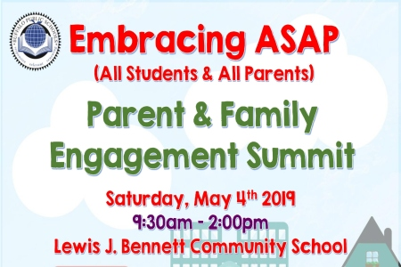 2019 Parent and Family Engagement Summit
