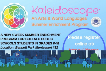 Kaleidoscope: An Arts & World Languages Summer Enrichment Program