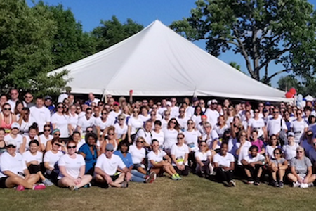 BPS Shows 366 Strong at JP Morgan  Corporate Challenge