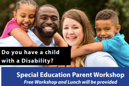 Special Education Parent Workshop