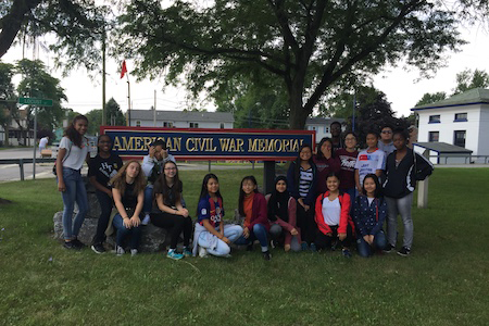 JROTC Cadet Historical Staff Ride