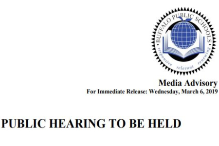 Public Hearing Announcement