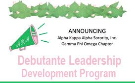 Alpha Kappa Alpaha Sorority Announces Leadership Program