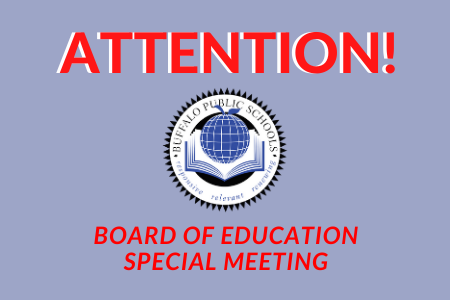 Important! BOE Special Meeting