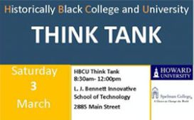 Save the Date: HBCU Think Tank