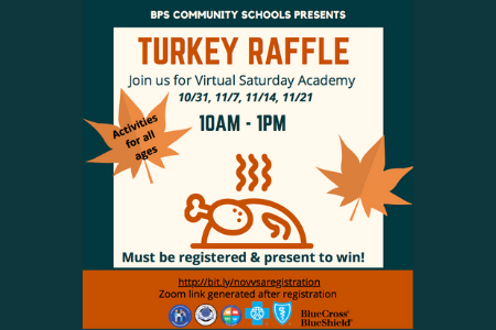 FREE Turkey Raffle