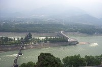 Dujiang Irrigation China- Wikimedia