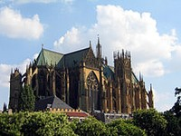 Metz Cathedral France- Wikimedia